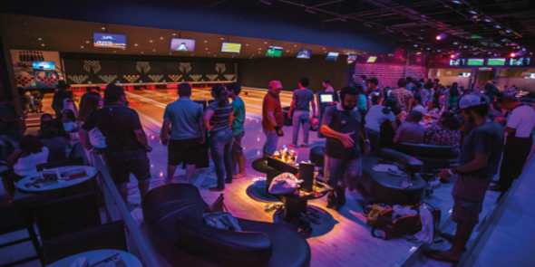 Bosque Sport Bar & Bowling